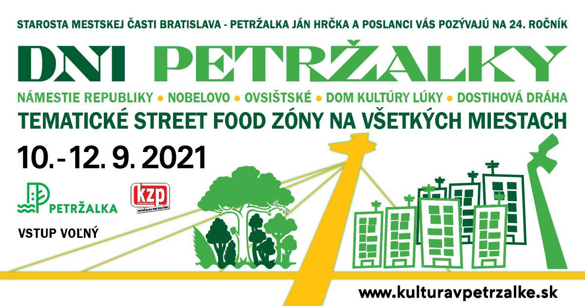 Dni Petržalky - 10. - 12.9.2021, rôzne miesta