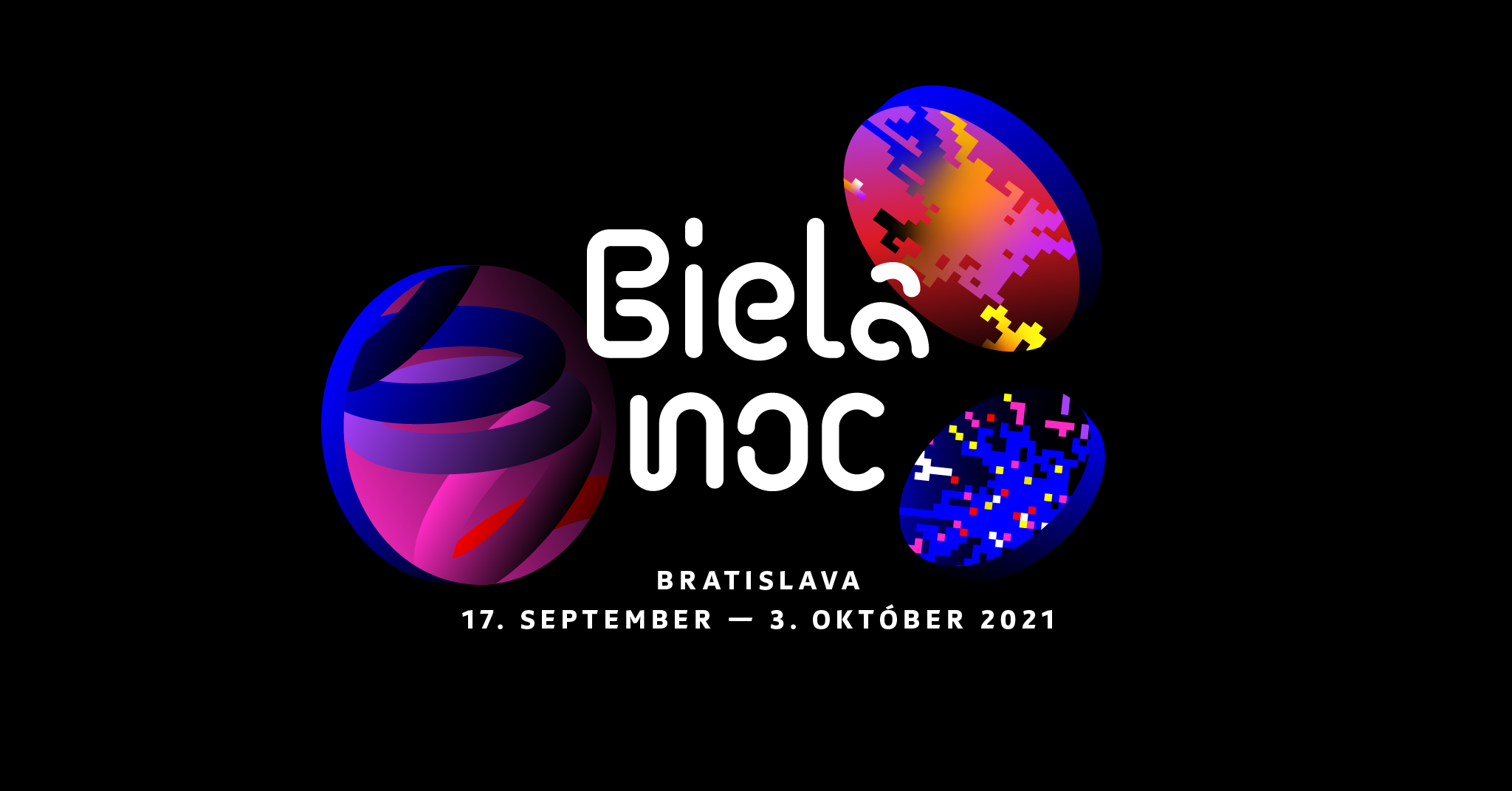 Biela noc Bratislava 2021 - 17.9. - 3.10.2021