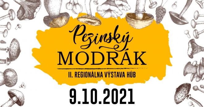 Pezinský modrák - 9.10.2021 od 9:00, Dom kultúry Pezinok