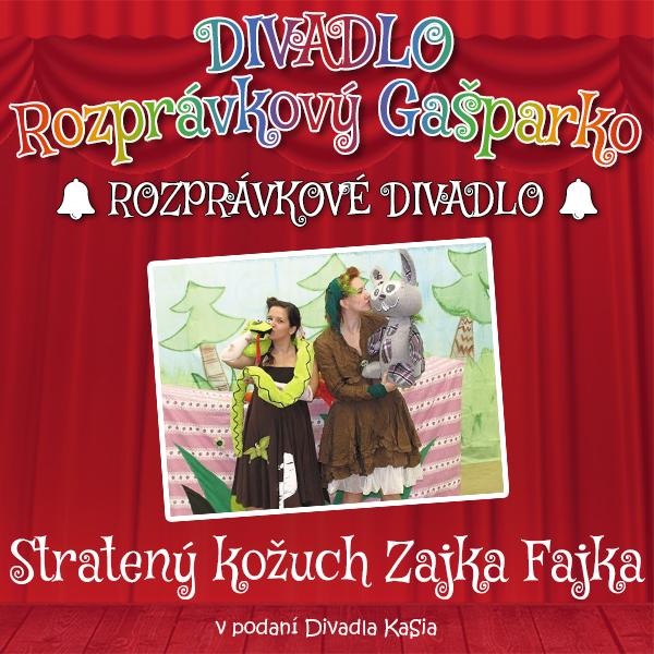 Stratený kožuch Zajka Fajka-16.10.2021 od 17:30 do 18:30, v Divadle Bratislavský Gašparko hrá Divadlo KaSia