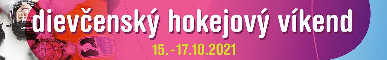 Dievčenský hokejový víkend – 15. – 17.10.2021, rôzne miesta SR