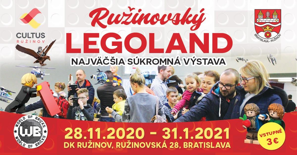 Ružinovský LEGOLAND - do 31.1.2020, DK Ružinov