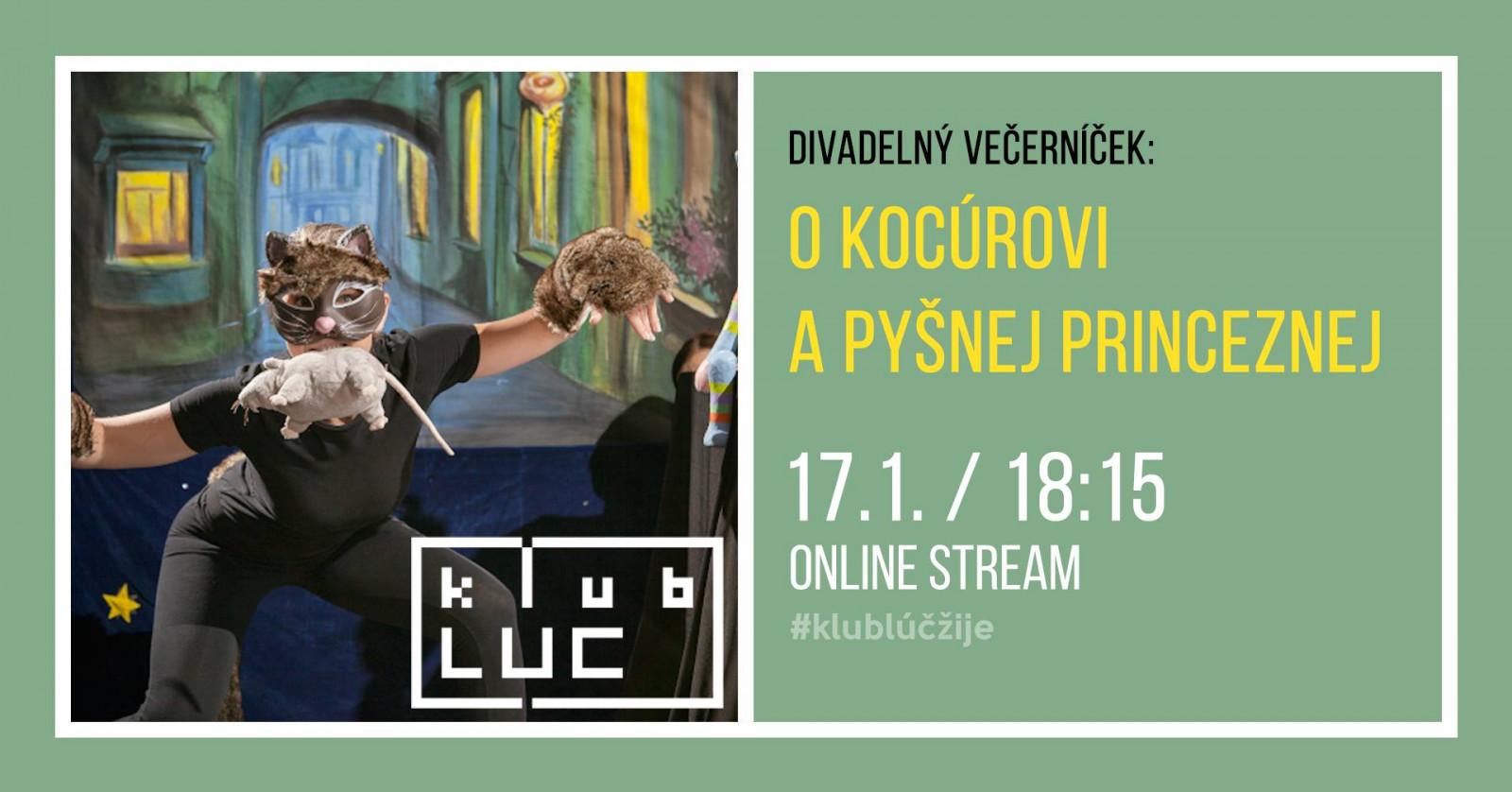 Divadelný večerníček: Tri kúzelné dary - 31.1.2021 od 18:30 do 19:30