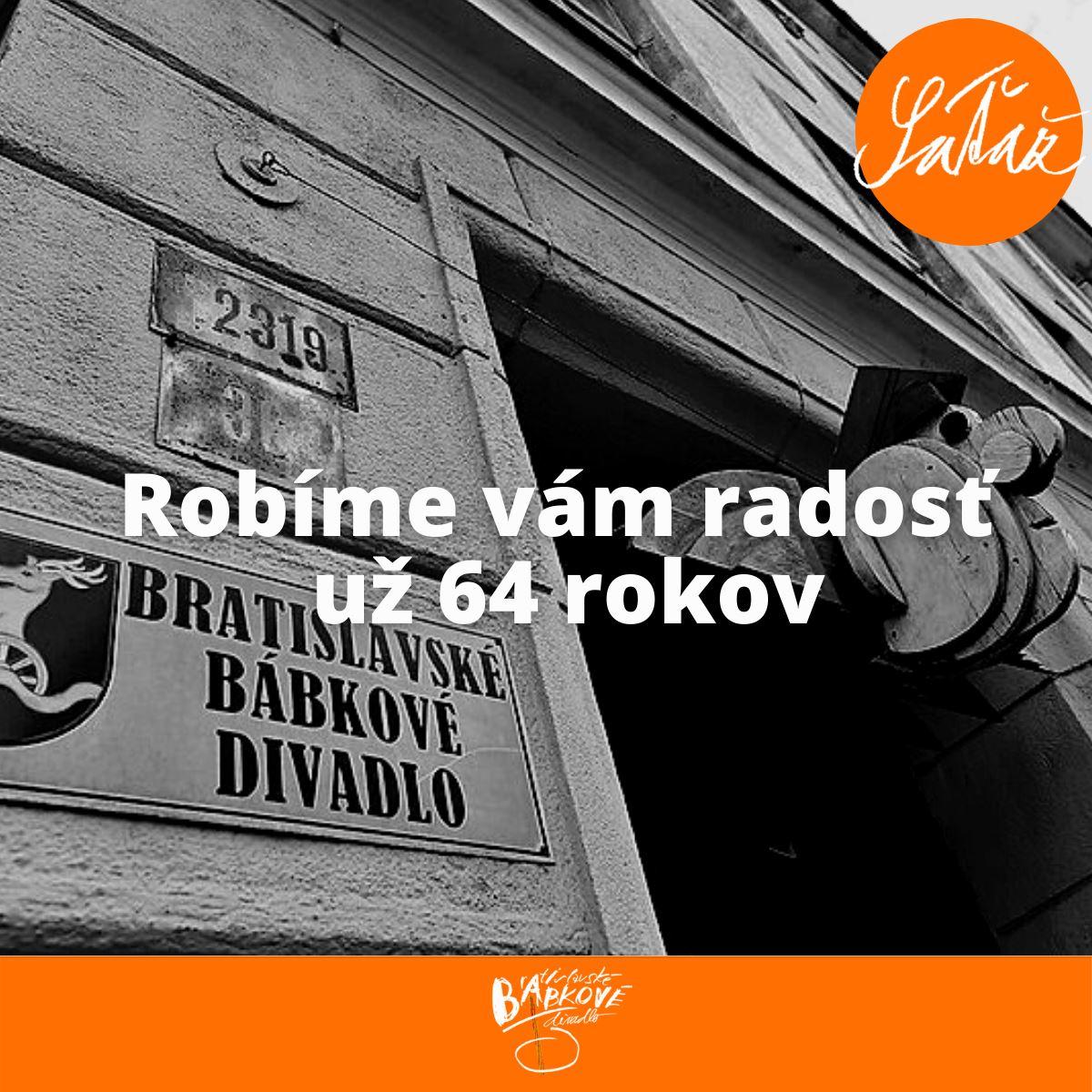 Oslávte narodeniny Bratislavského bábkového divadla súťažou