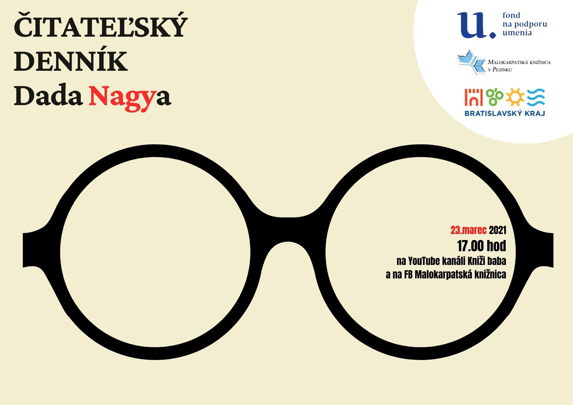 Čitateľský denník Dada Nagya z Malokarpatskej knižnice v Pezinku