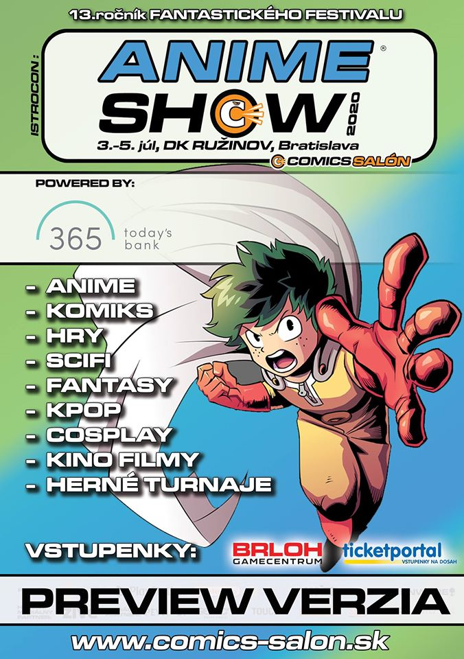 AnimeSHOW 2021 - 365.bank - 2. - 4. 7.2021, DK Ružinov