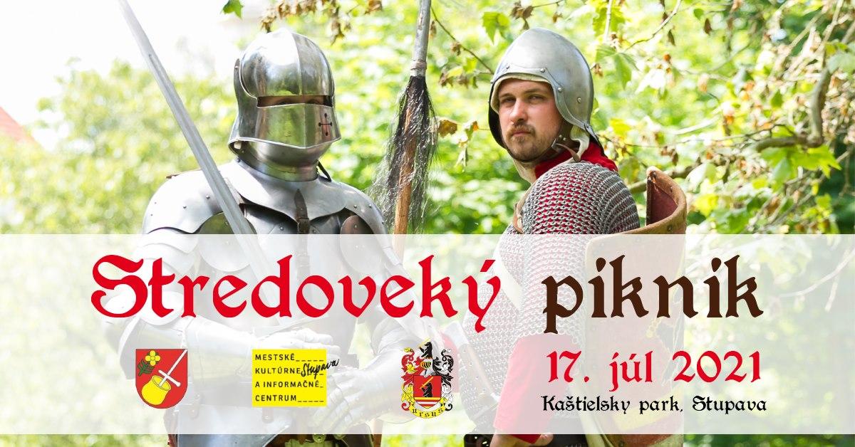 Stredoveký piknik - 7.8. 2021 o 13:00, Kaštieľsky park Stupava