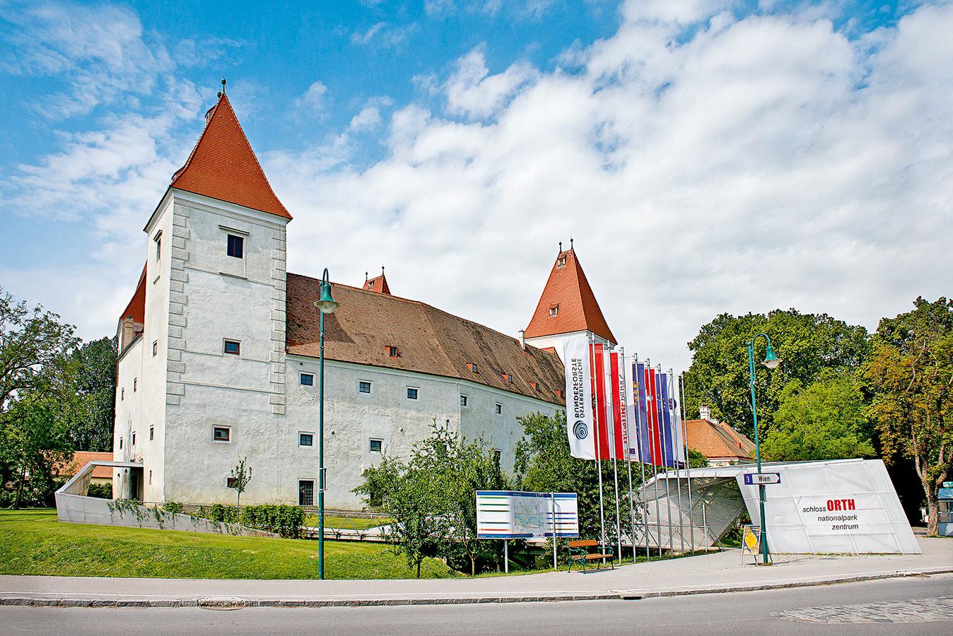 TIP NA VÝLET: Okolie zámku Orth v Rakúsku