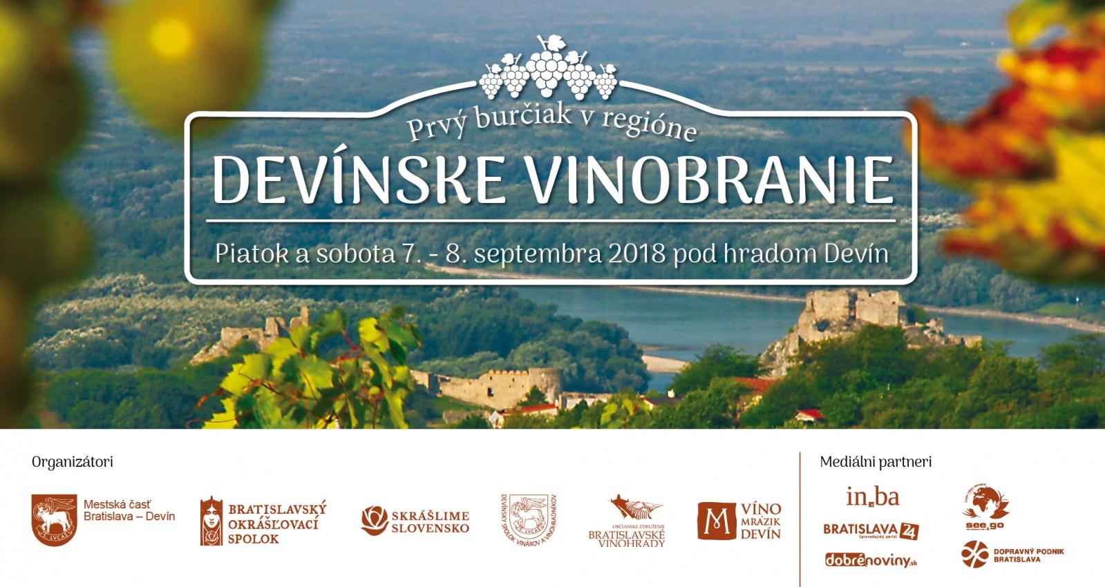 Devínske ríbezľové vinobranie - 4.9.2021, Areál devínskeho trhoviska a vínneho trhu pod Devínskym hradom