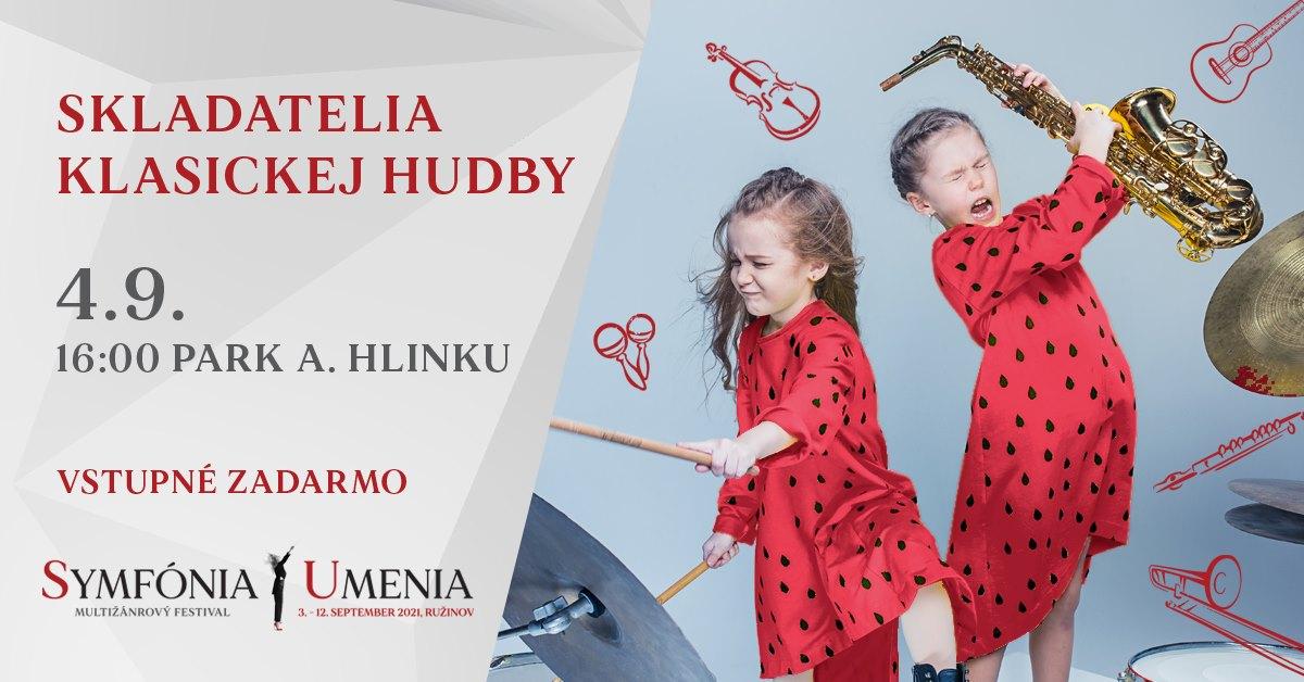 Skladatelia klasickej hudby - 4.9.2021, Nám. A. Hlinku