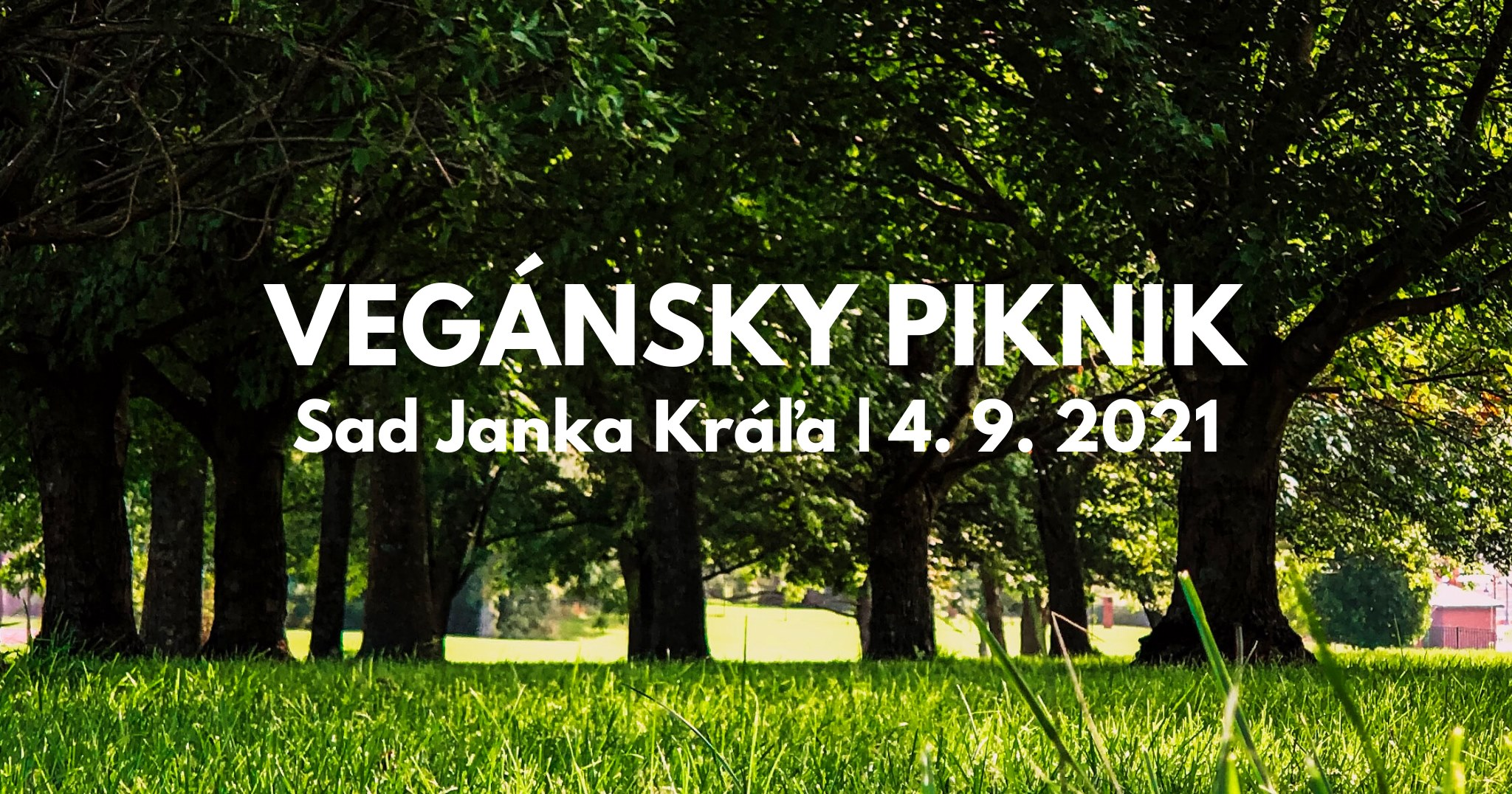 Vegánsky piknik v Sade Janka Kráľa - 4.9.2021