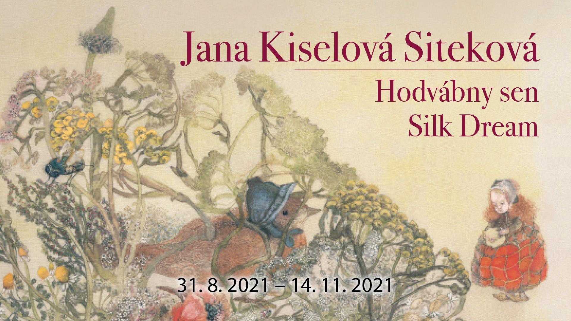 Hodvábny sen - do 14.11.2021 v Danubiane